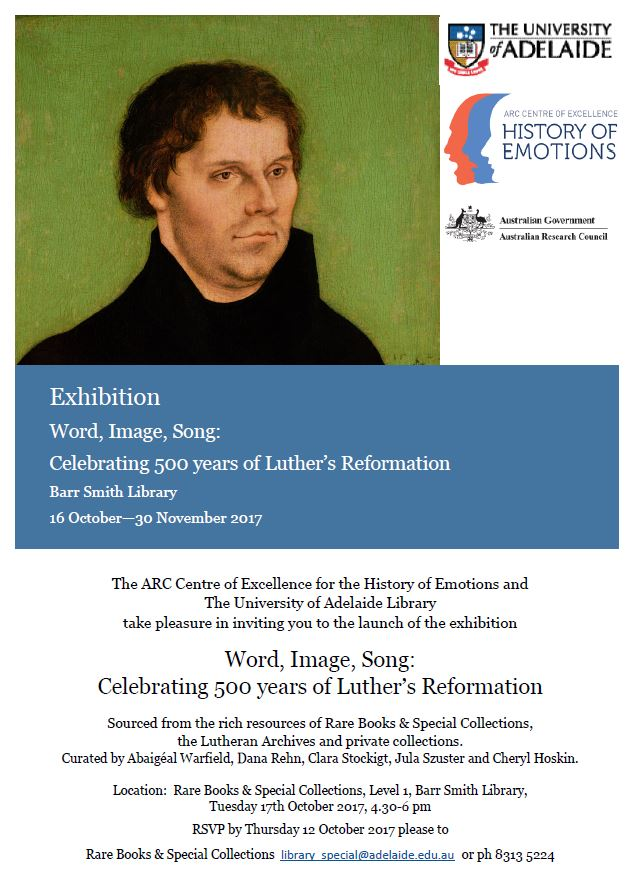 Martin Luther Exhibition